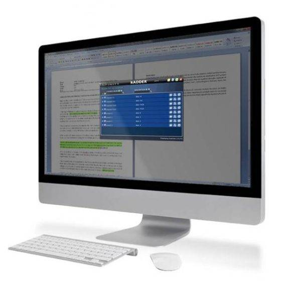 AdderLink Infinity Manager mit On-Screen-Display